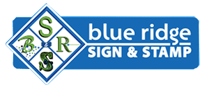 Blue Ridge Sign & Stamp Logo