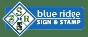 Blue Ridge Sign & Stamp Logo