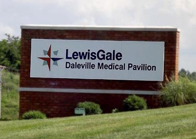 LewisGale Monument Sign